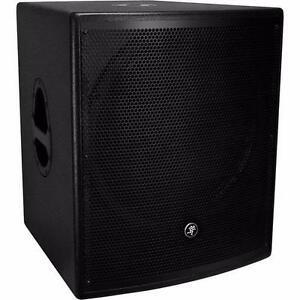 Mackie S series - S518S SUBWOOFER  * 1800WATTS * 18 INCH POUCES* CRAZY DEAL