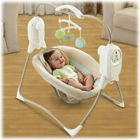 Fisher Price Space Saver Swing 60$ Nego balancoire