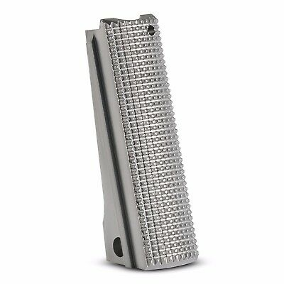 1911 Mainspring Housing Stainless steel Checkered - Full size , 1911 msh,