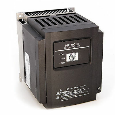 Hitachi Nes1-022lb 3 Hp 230 Vac 3 Phase Input Vfd With Operator