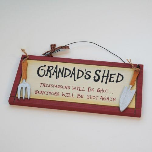 Grandads Shed | eBay