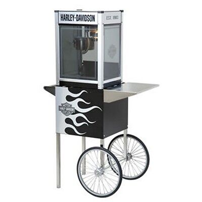 Used, H-D® Metallic Flames Popcorn Machine w/Cart for sale  Shipping to Nigeria