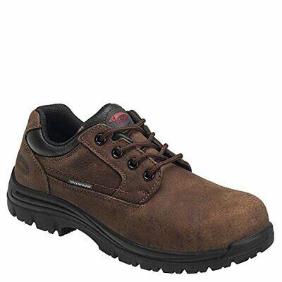 Avenger Men's Waterproof Oxford Work Shoes Composite Toe Col