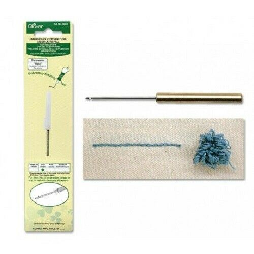 Clover Embroidery Needle Refill 3-Ply