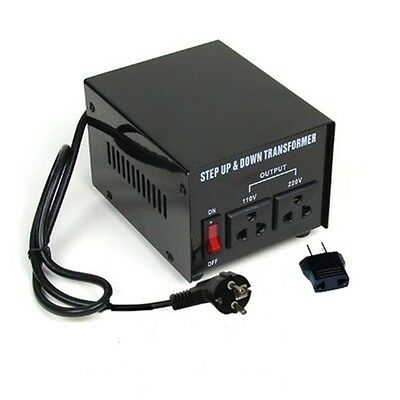 750 Watt Voltage Converter Transformer Heavy Duty Step Up/Down 750W 110-220V