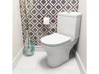 Toilet, Cistern and Soft Close Seat Bathroom - new