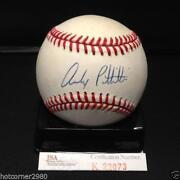 Andy Pettitte Autograph