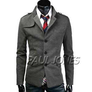 Stylish-Mens-Slim-fit-Stylish-Casual-Formal-Button-Blazer-Jacket-Suit-Coat-Tops