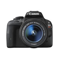 New: Canon EOS Rebel SL1 With 18-55mm Lens Kit