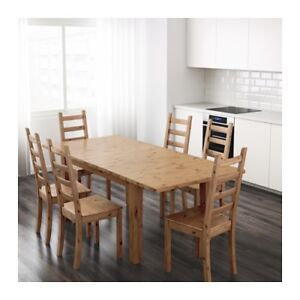 IKEA STORNAS extendable dining table, like new