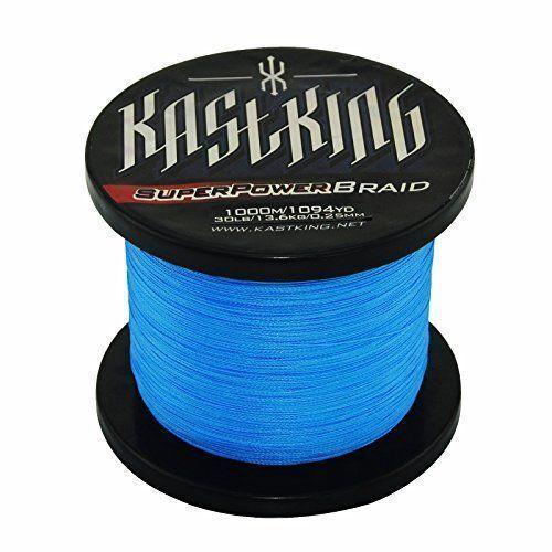 KastKing SuperPower Blue Braided Fishing Line