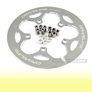 New-Driveline-Chain-Guard-53T-BCD-110mm-163g-Gray