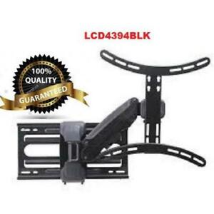 Weekly Promo! Tygerclaw LCD4394BLK 37 inch 60 inch Full Motion Wall Mount $99.99(was$280)
