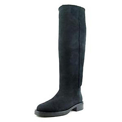Coach New Eliza Curly Shearing Tall Black Boots Size 6.5. Discounted from (Coach Discount)