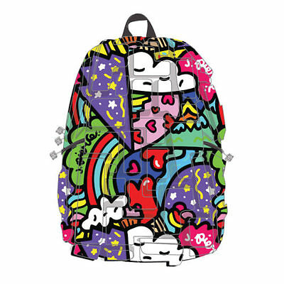 Madpax Blok Artipax Heart 2 Heart School Drawing Full pack Book bag Backpack