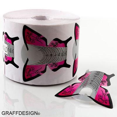 Modellierschablonen - pink schwarz / Butterfly - 408-017