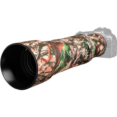 easyCover Lens Cover for Canon RF 800mm f/11 IS STM Lens Forrest Camo LOC800FC