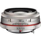 Pentax DA Digital Camera Lenses 21mm Focal