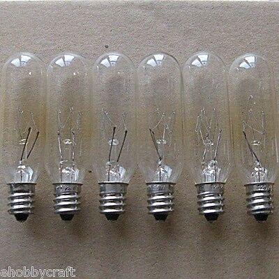 Light Bulbs -Great for Salt Lamps -15 Watt,Candelabra,Clear (15T6C) -25 Pieces Home & Garden