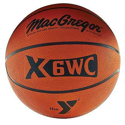 Macgregor  Official Size  29 5   Basketball W  Ymca Logo