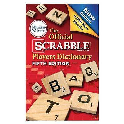 Merriam Webster  The Official Scrabble  Players Dictionary   5Th Edition