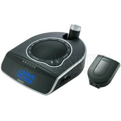 HomeMedics SoundSpa SS-5500 Alarm Clock AM-FM Radio Ceiling Light Sound Effects