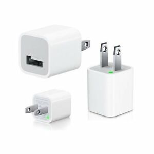 USB WALL CHARGER WHITE CAN BE USED FOR IPHONE, IPOD, SAMSUNG ETC Regina Regina Area image 1