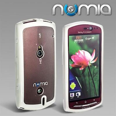 Numia Tpu Handy Case Cover Sony Ericsson Xperia Neo/Neo V Weiss Schutzhülle Etui Handy Cover Sony Ericsson