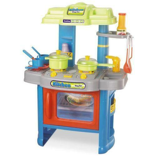 Role play kitchen toys games ebay for Kitchen set games