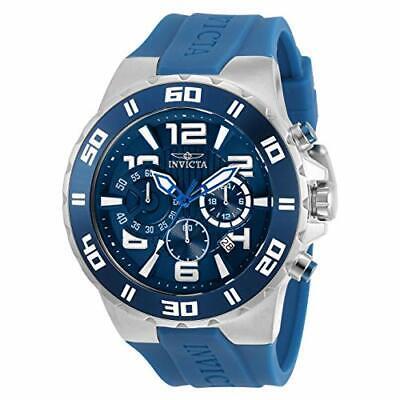 Invicta Men's 30937 Pro Diver Quartz Chronograph Blue Dial Watch