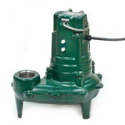 Zoeller 267-0032 Model BN267 Waste-Mate Cast Iron Sewage Pump w/ Variable Level