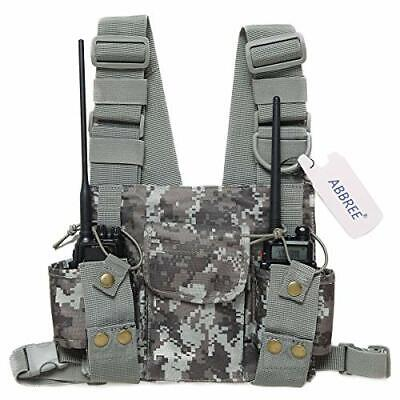 Abbree Front Pack Pouch Holster Vest Rig Chest Bag Carry Case for Camouflage