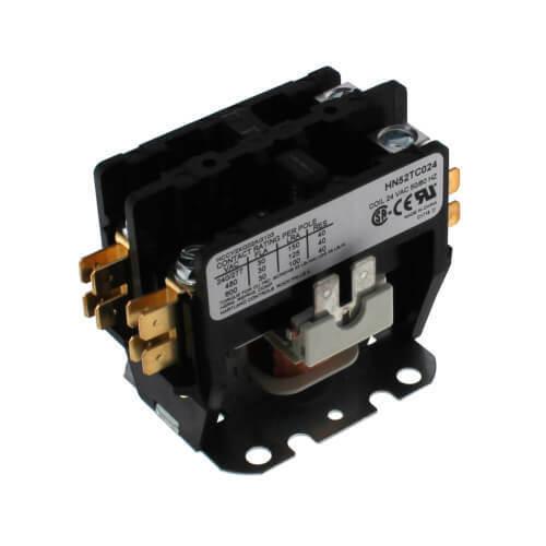 OEM Carrier HN52TC024 Contactor Coil 24 VAC 2 Pole 32 FLA 50/60 Hz