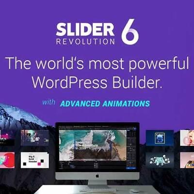 Slider Revolution 6.2.23 Wordpress Plugin Latest Version