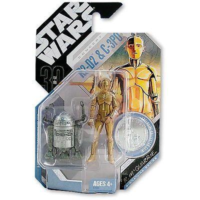 Gebraucht, R2-D2 C-3PO McQuarrie Concept Action Figur Exclusive Star Wars Hasbro gebraucht kaufen  Göppingen