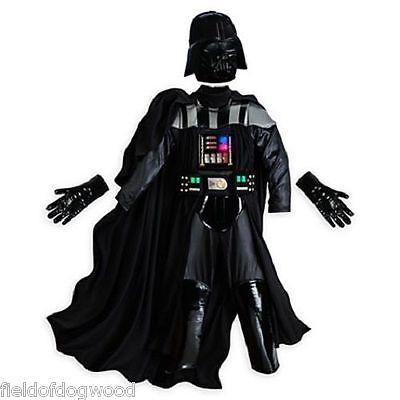 NWT Disney Store Star Wars Darth Vader Costume 11/12 Boys