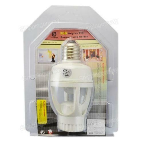 Motion Sensor Socket Ebay