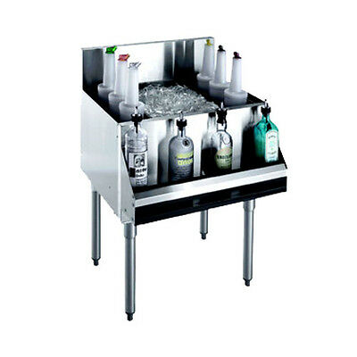 Krowne Metal Kr18-30 Royal 1800 Series Underbar Ice Bin Cocktail Unit
