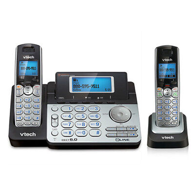 2 Line Expandable Phone - VTech DS6151 2-Line Expandable Phone with DS6101 Accessory Cordless Handset