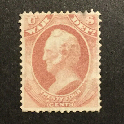 TDStamps US Official Stamps Scott O91 Unused Regum Tiny Thin  - $5.50