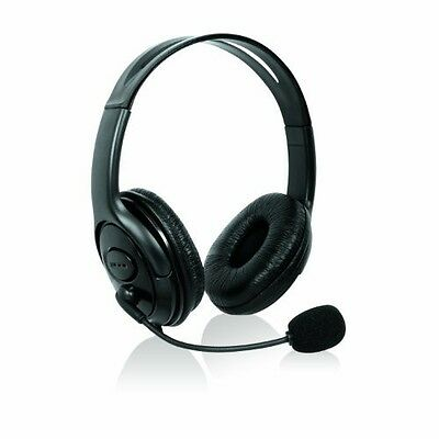 DELUXE BLACK HEADSET MICROPHONE FOR XBOX 360 LIVE