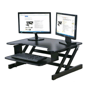 Ergonomic sit/stand desk