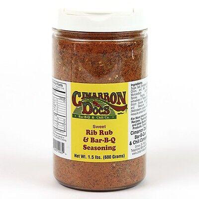 (Cimarron Doc's Sweet Rib Rub BBQ Barbecue Seasoning - 1.5 lb)