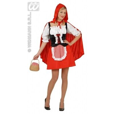 CARNEVALE COSTUME CAPPUCCETTO ROSSO SEXY TG. S WIDMANN