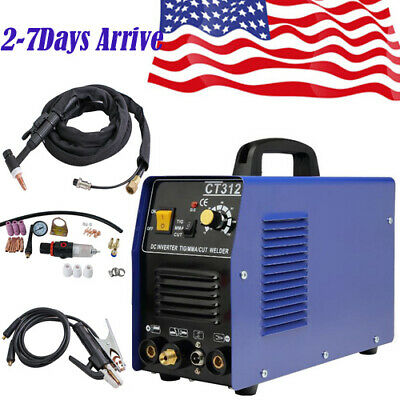 Ct312 Tigmmacut 3in1 Air Plasma Cutter Welder Welding Machinetorches Sale