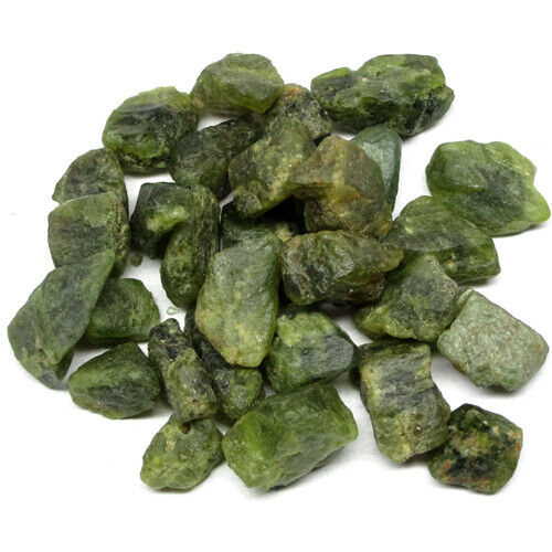 400.00 Ct. Unheated Rough Green Demantoid Garnet F01