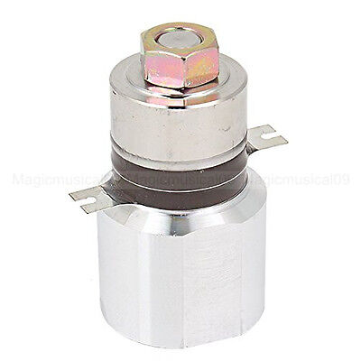 45mm Diameter 80mm Height 50w 28khz Ultrasonic Piezoelectric Transducer Cleaner