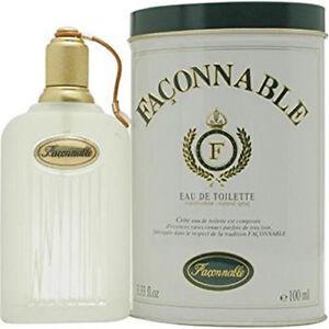 Parfum-Homme-FACONNABLE-de-FACONNABLE-Eau-de-Toilette-100ml-Neuf-Blister
