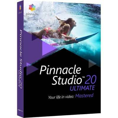 Pinnacle Studio 20 Ultimate Video Editing Software For Windows   New Retail Box