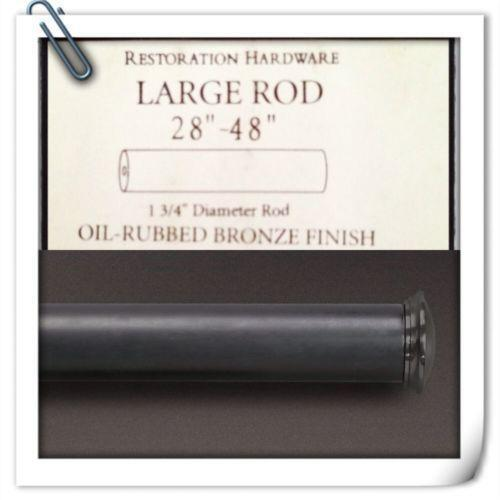 Restoration Hardware Ebay: Restoration Hardware Curtain Rod